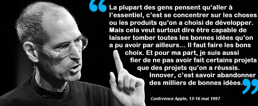 L Anti Le 231 On De Branding De Steve Jobs The Brandnewsblog