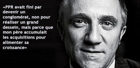 La leçon de branding de François-Henri Pinault, P-DG de PPR (#1) - TheBrandNewsBlog